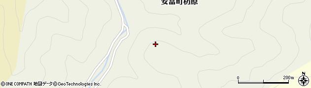兵庫県姫路市安富町杤原周辺の地図
