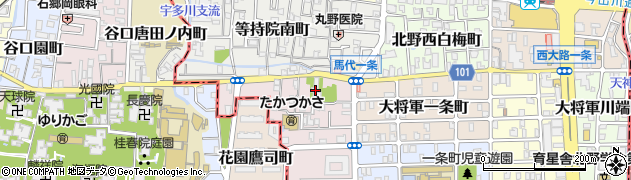 東光庵周辺の地図