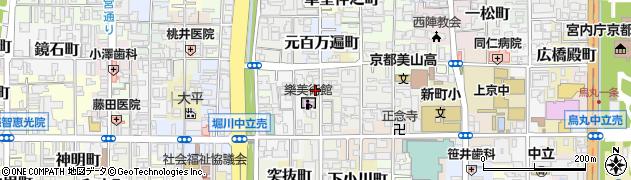 京都府京都市上京区油橋詰町周辺の地図