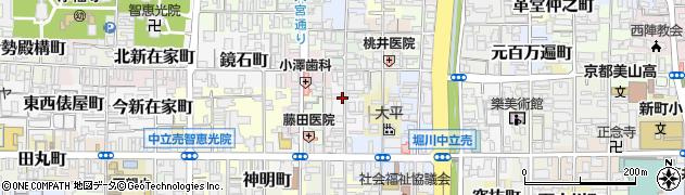 京都府京都市上京区飛弾殿町周辺の地図