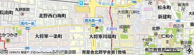 椿寺(地蔵院)周辺の地図
