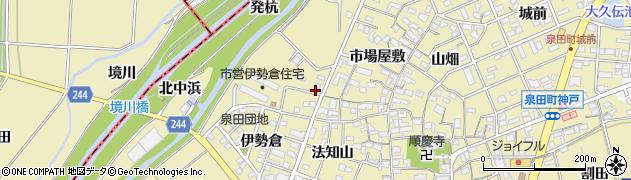 愛知県刈谷市泉田町(欠ノ上)周辺の地図