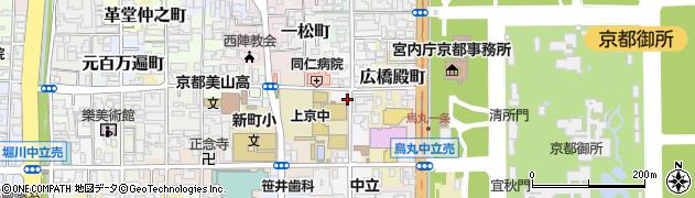 京都府京都市上京区薬屋町周辺の地図