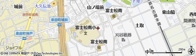 愛知県刈谷市今川町(山脇)周辺の地図