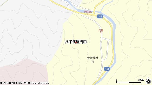 〒677-0111 兵庫県多可郡多可町八千代区門田の地図