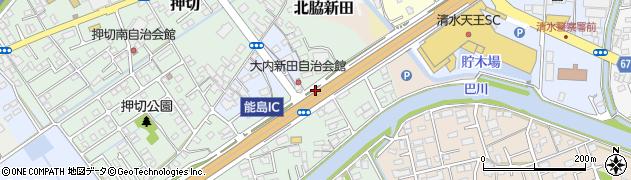 能島IC周辺の地図