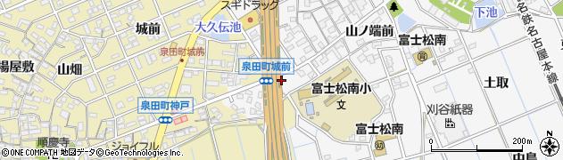 愛知県刈谷市今川町(赤羽根)周辺の地図