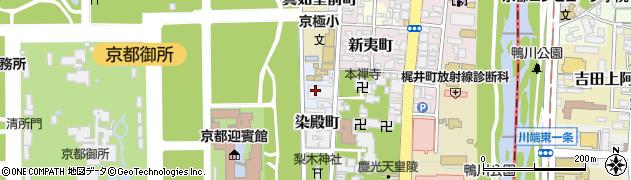 京都府京都市上京区染殿町周辺の地図