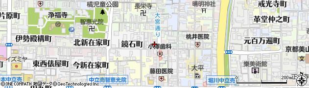京都府京都市上京区下石橋南半町周辺の地図