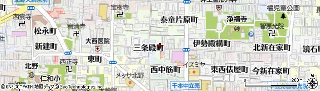 京都府京都市上京区烏丸町周辺の地図