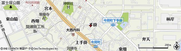 愛知県刈谷市今岡町(手掛)周辺の地図