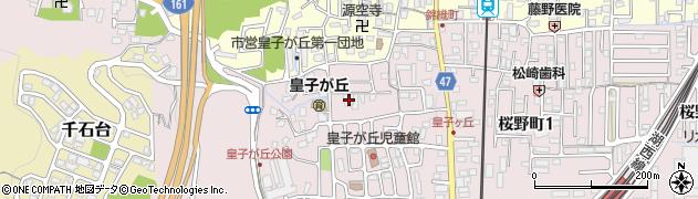 長蓮寺周辺の地図