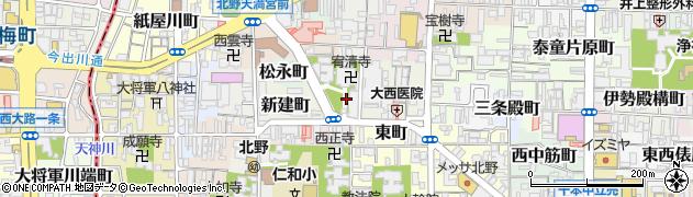 京都府京都市上京区滝ケ鼻町周辺の地図