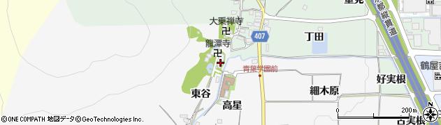 京都府亀岡市稗田野町太田(東谷)周辺の地図