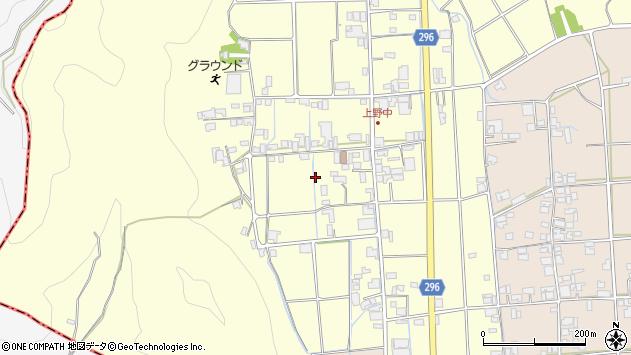 〒677-0005 兵庫県西脇市野中町の地図