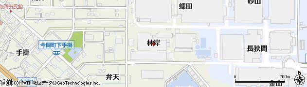 愛知県刈谷市今岡町(林岸)周辺の地図
