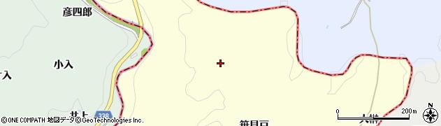 愛知県岡崎市大柳町彦立周辺の地図