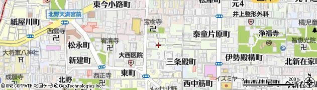 京都府京都市上京区一観音町周辺の地図