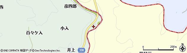 愛知県豊田市長沢町(彦四郎)周辺の地図