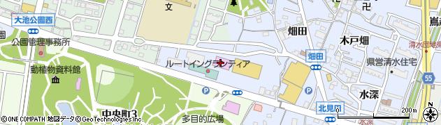 愛知県東海市荒尾町(丸根)周辺の地図