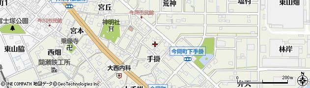 愛知県刈谷市今岡町周辺の地図