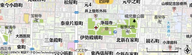 京都府京都市上京区笹屋町二丁目周辺の地図