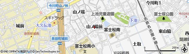 愛知県刈谷市今川町(山ノ端前)周辺の地図