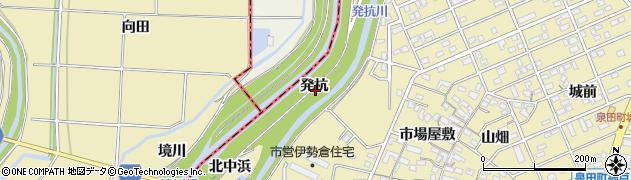愛知県刈谷市泉田町(発杭)周辺の地図