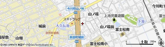 愛知県刈谷市今川町(山ノ端西)周辺の地図