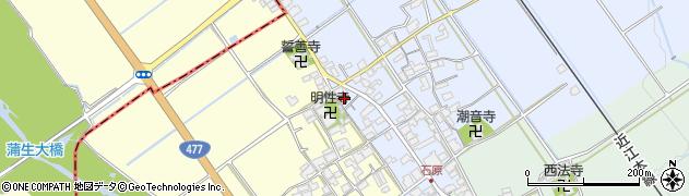 棒屋周辺の地図