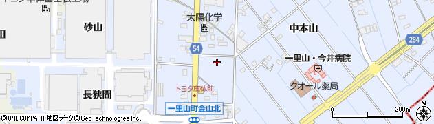 愛知県刈谷市一里山町周辺の地図
