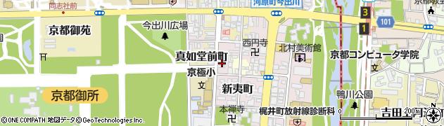 京都府京都市上京区扇町周辺の地図