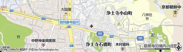京都府京都市左京区銀閣寺前町周辺の地図
