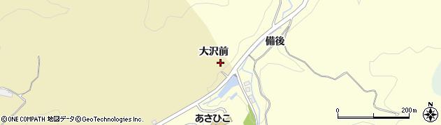 愛知県岡崎市細川町(大沢前)周辺の地図