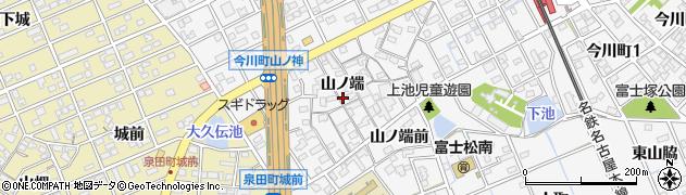 愛知県刈谷市今川町(山ノ端)周辺の地図
