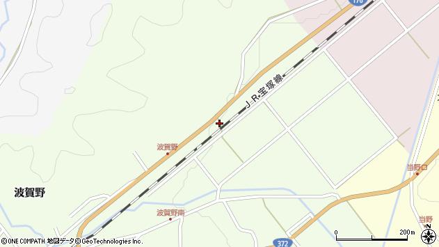 〒669-2103 兵庫県丹波篠山市波賀野の地図