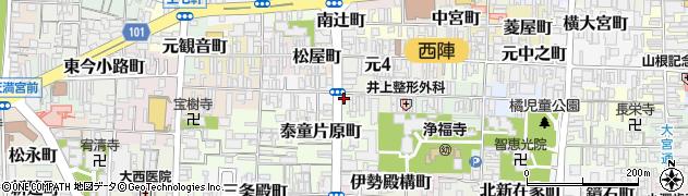 京都府京都市上京区笹屋町三丁目周辺の地図