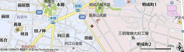 大黒亭周辺の地図