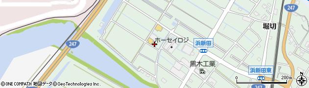 愛知県東海市大田町(川北新田)周辺の地図