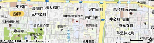 京都府京都市上京区寺今町周辺の地図