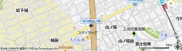 今川町山ノ神周辺の地図