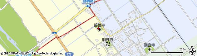 誓善寺周辺の地図
