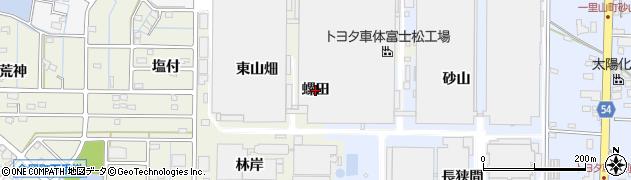 愛知県刈谷市今岡町(螺田)周辺の地図
