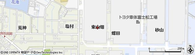 愛知県刈谷市今岡町(東山畑)周辺の地図