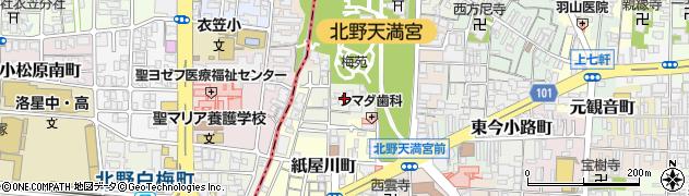 東向観音寺周辺の地図