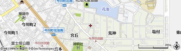 愛知県刈谷市今岡町(荒神)周辺の地図