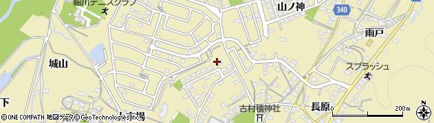 愛知県岡崎市細川町周辺の地図