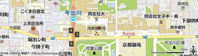 京都府京都市上京区新北小路町周辺の地図