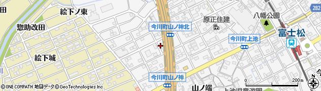 愛知県刈谷市今川町(山ノ神)周辺の地図