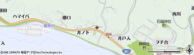 秀枡屋周辺の地図